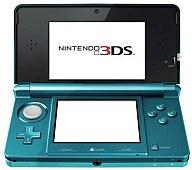 Aqua blue Nintendo 3ds hardware Nintendo 3ds unit