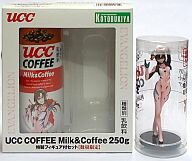 "Figure REI and Mari and illustrious UCC COFFEE Milk &Coffee 250 g special figure set (Blu-ray & DVD launch) ""Evangelion: fracture"""