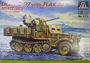 【中古】プラモデル 1/35 DEMAG D7 WITH FLAK 38 SD.KFZ.10/5 [MODEL KIT No.371]