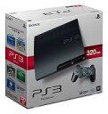 【中古】PS3ハード プレイステーション3本体 チャコール・ブラック(HDD 320GB)【02P03Dec16】【画】