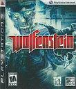 【中古】PS3ソフト 北米版 Wolfenstein((18才以上対象・国内版本体動作可)【画】
