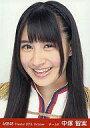 【中古】生写真(AKB48 SKE48)/アイドル/AKB48 中塚智実/顔アップ/劇場トレーディング生写真セット2010.October