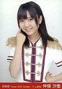 【中古】生写真(AKB48 SKE48)/アイドル/AKB48 仲俣汐里/上半身 右手ガッツポーズ/劇場トレーディング生写真セット2010.October