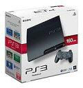 【中古】PS3ハード プレイステーション3本体 チャコール・ブラック(HDD 160GB)【10P13Jun14】【画】