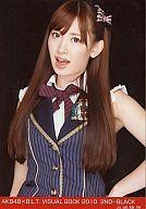 【中古】生写真(AKB48・SKE48)/アイドル/AKB48 小嶋陽菜/AKB48×B.L.T.VISUALBOOK2010/2ND-BLACK