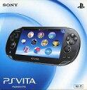 【ポイント2倍】【送料無料】【予約】PSVITAハード PlayStationVita本体<<Wi-Fiモデル>>(クリスタル・ブラック)[PCH-1000 ZA01]【画】