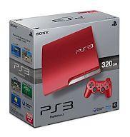 【中古】PS3ハード プレイステーション3本体 スカーレット・レッド(HDD 320GB/…...:surugaya-a-too:14711667