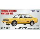 【中古】ミニカー 1/64 TLV-N59a トヨタ カリーナ 1600 GT-R(84年式) イエロー 「トミカリミテッドヴィンテージNEO」【タイムセール】【画】