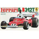 【中古】プラモデル 1/12 フェラーリ 312T 1975 F-1 チャンピオンカー 「ビッグスケールシリーズ No.17」 ディスプレイモデル 12019