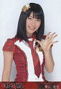 【中古】生写真(AKB48・SKE48)/アイドル/AKB48 横山由依/腰上・赤チェック/よっしゃ