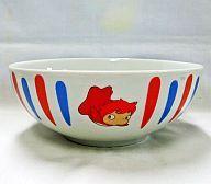 【中古】皿・茶碗(キャラクター) 崖の上のポニョ ポニョのラーメン丼 ローソンキャンペーン品