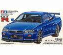 【中古】プラモデル 1/24 ニッサン スカイライン GT-R Vスペック(R34) 「スポーツカーシリーズ No.210」 ディスプレイモデル [24210]【02P03Dec16】【画】