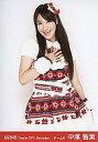 【中古】生写真(AKB48 SKE48)/アイドル/AKB48 中塚智実/膝上 右手胸/劇場トレーディング生写真セット2011.December