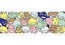 【中古】タオル・手ぬぐい(キャラクター) 菌集合 フェイスタオル 「一番くじ もやしもん 〜くじをかもすぞ〜」 D賞