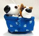【中古】ハッピーセット ボクサー&ブル・テリア 「THE DOG Artlist Collection2」 ハッピーセット