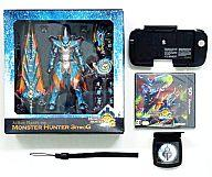 Nintendo 3DS software monster hunter 3 (fs3gm with try )G expansion slide pad pack + E Capcom monopoly full operation action-figure + alarm clock)