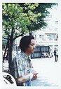 【中古】生写真(男性)/アイドル/SMAP SMAP/中居正広/上半身・シャツチェック青黄色・右手リストバンド・両手あわせ・横向き・野外/公式生写真【10P06may13】【fs2gm】【画】