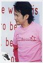 【中古】生写真(男性)/アイドル/SMAP SMAP/中居正広/腰上・衣装ピンク・背景英字/公式生写真【10P06may13】【fs2gm】【画】