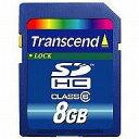 【中古】WiiHD Transcend SDHCカード 8GB Class6