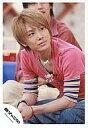 【中古】生写真(ジャニーズ)/アイドル/関ジャニ∞ 関ジャニ∞/安田章大/座り・衣装ピンク・ジーパン・デニム/公式生写真