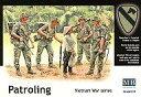 【新品】プラモデル 1/35 第一空挺騎兵師団4体+民間女性1体ベトナム戦 [MB3599]
