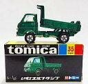 【中古】ミニカー 1/67 いすゞエルフダンプ (グリーン/黒箱) 30周年復刻版 「トミカ No.35」