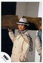 【中古】生写真(男性)/アイドル/SMAP SMAP/中居正広/腰上・衣装白・スカーフ・帽子・右手角材・左手ポケット・背景白黒/公式生写真【10P06may13】【fs2gm】【画】