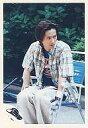 【中古】生写真(男性)/アイドル/SMAP SMAP/中居正広/チェック柄シャツ・白のズボン・椅子に座り・目線左・背景緑/公式生写真【10P06may13】【fs2gm】【画】