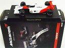 【中古】ミニカー 1/64 McLaren MP4/6 No.1(ホワイト×レッド) 「マクラーレン ミニカーコレクション」 サークルK サンクス限定