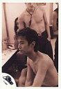 【中古】生写真(男性)/アイドル/SMAP SMAP/中居正広/上半身・上半身裸・体左向き・後ろにメンバー・セピア色/公式生写真【10P06may13】【fs2gm】【画】