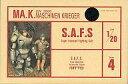 【中古】プラモデル 1/20 傭兵軍主力戦闘装甲服 S.A.F.S 「Ma.K. マシーネンクリーガー」 シリーズ4 [24098]【タイムセール】