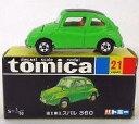 【中古】ミニカー 1/50 富士重工 スバル 360(ライムグリーン/黒箱) 「トミカ No.21」 復刻版