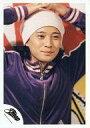 【中古】生写真(男性)/アイドル/SMAP SMAP/中居正広/バストアップ・ジャージ紫・帽子白・両手頭・背景赤白/公式生写真【10P06may13】【fs2gm】【画】