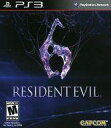 【中古】PS3ソフト 北米版 RESIDENT EVIL 6 (18歳以上対象 国内版本体可)