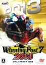 【中古】WindowsXP/Vista/7/8 DVDソフト Winning Post 7 2013