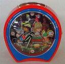 【中古】置き時計・壁掛け時計(キャラクター) 集合 オリジナルアラームクロック 「ドミノ・ピザ×劇場