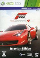 【中古】XBOX360ソフト Forza Motorsports4 Essentials Edition