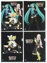【中古】クリアファイル ミク&リン&レン&ルカ A4クリアファイル(4枚セット) 「初音ミク ライブパーティー2011 ミクパ♪ 39's LIVE IN TOKYO」