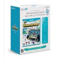 【中古】WiiUソフト Nintendo Land Wiiリコモンプラスセット(アオ)