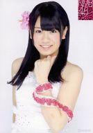 【中古】生写真(AKB48・SKE48)/アイドル/NMB48 <strong>福本愛菜</strong>/上半身・衣装白・左手首元・背景白/公式生写真第12弾