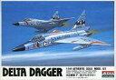 【中古】プラモデル 1/144 米軍機 F-102A デルタダガー 「ワールドフェイマスジェットファ