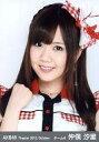 【中古】生写真(AKB48・SKE48)/アイドル/AKB48 仲俣汐里/バストアップ/劇場トレーディング生写真セット2012.October