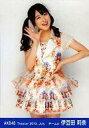 【中古】生写真(AKB48 SKE48)/アイドル/AKB48 伊豆田莉奈/膝上 右手パー/劇場トレーディング生写真セット2013.July