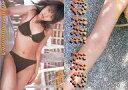 【中古】コレクションカード(女性)/月刊誌 「ヤングビンタ」 2002年9月号 YOUNG BINTA OFFICIAL TRADING CARDS 諸岡ひとみ/裏面パズルカード(4/9)/横型 水着茶色/月刊誌 「ヤングビンタ」 2002年9月号 YOUNG BINTA OFFICIAL TRADING CARDS
