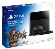【中古】PS4ハードプレイステーション4本体FirstLimitedPackwithPlayStationCamera(HDD500GB/CUHJ-10001)【05P24Feb14】【画】