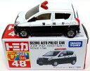 【中古】ミニカー スズキ アルト パトロールカー(ブラック×ホワイト) 「トミカ No.48」