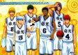 【中古】ポスター(アニメ) A3ミニクリアポスター B.帝光中 「黒子のバスケ」【画】