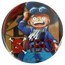 【中古】バッジ・ピンズ(キャラクター) サボ 「ワンピース 輩〜YAKARA〜缶バッジBLUE」