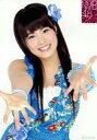 【中古】生写真(AKB48・SKE48)/アイドル/NMB48 山口夕輝/上半身・衣装青・両手パー/ランダム生写真