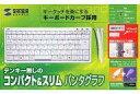 【中古】Windowsソフト USB&PS/2スリムキーボード[SKB-SL09W]【10P13Jun14】【画】